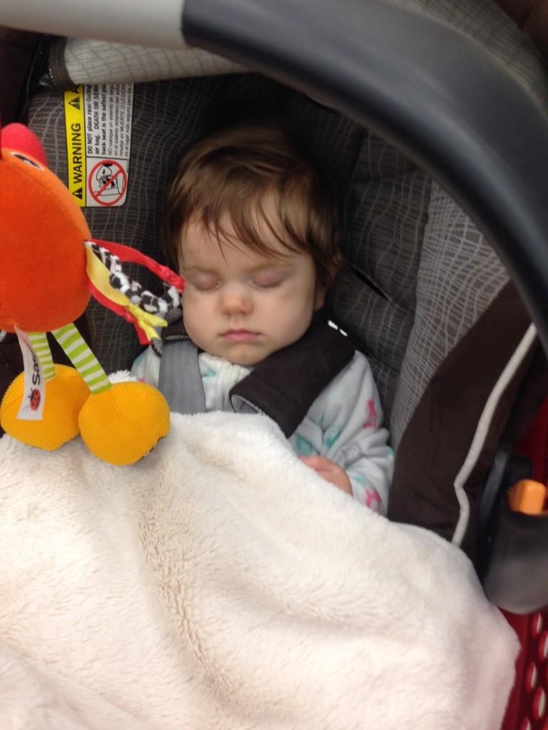 Audrey 5 mnth nap